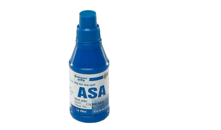 Thuốc chữa hắc lào Asa