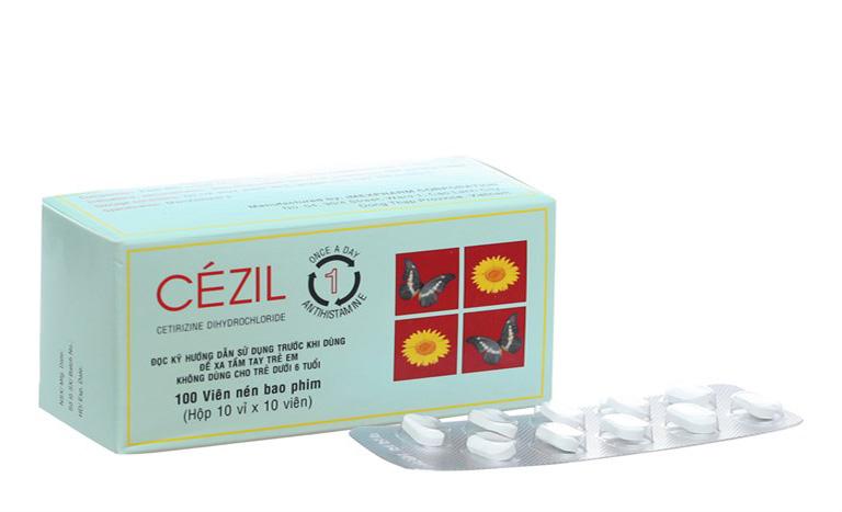 Thuốc trị tổ đỉa Cezil