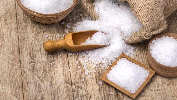 Chữa bệnh tổ đỉa bằng muối