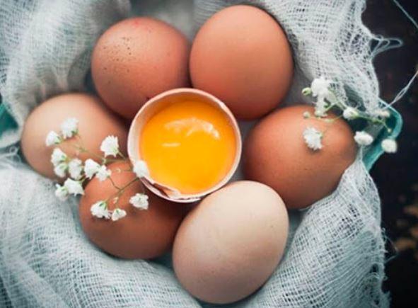Cách chữa vảy nến bằng lòng đỏ trứng gà