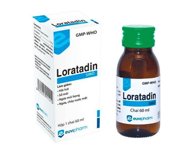 Thuốc Loratadin dạng siro