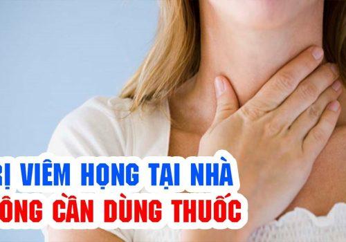 Cách chữa viêm họng dân gian an toàn và hiệu quả