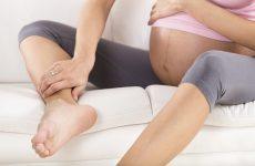thai 38 tuần đau xương mu