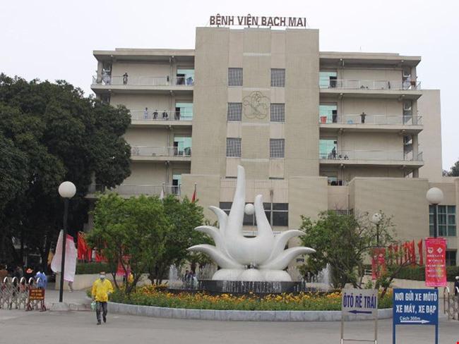 Bệnh viện Bạch Mai chuyên về xương khớp
