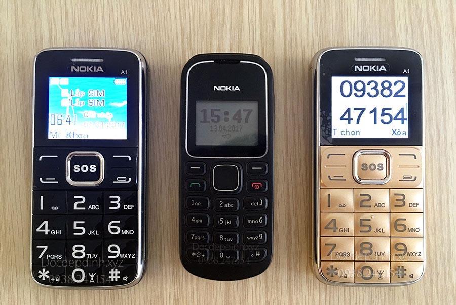 Điện thoại dành cho người già