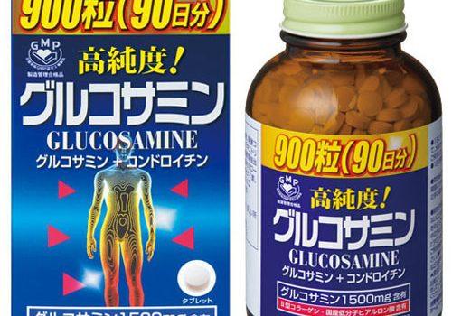 thuốc xương khớp Glucosamine của Nhật