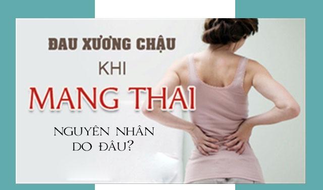 Phương pháp giảm đau xương chậu hiệu quả khi mang thai