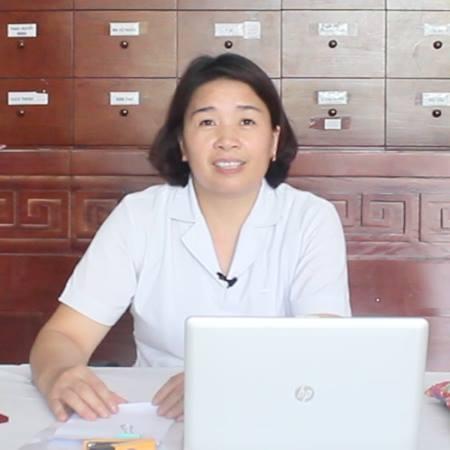 Bác sĩ Nguyễn Thị Hồng Yến phòng khám Đông y Tâm Minh Đường
