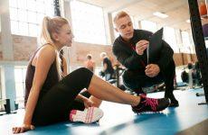tập gym bị đau cơ cớ nên tập tiếp